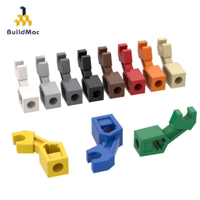 BuildMOC Compatible Assembles Particles 98313 Special Claw Building Blocks Parts DIY LOGO Educational Creatives Gift Toys
