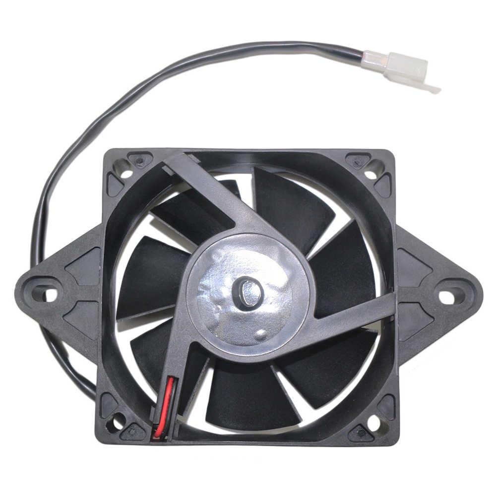Universal Radiator Listrik Thermal Kipas Pendingin untuk Sepeda Motor ATV Go Kart Quad 150-250CC