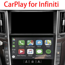 OEM Screen Mirror Car Video Interface Android Auto Module Wireless Apple CarPlay for Infiniti In-Touch System Q50/Q60/Q50L/QX50
