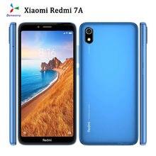 Original usado desbloqueado xiaomi redmi 7a 5.45 polegada 2g ram 16gb rom 4000mah versão global dupla sim face id 4g android telefone inteligente