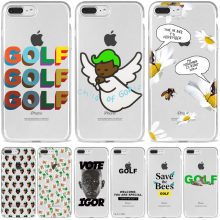 GOLF Tyler IGOR el Creador OFWGKTA Odd Future GOLF Wang verde de teléfono TPU suave para iPhone 5S 6S Plus 7 8 Plus XS MAX XR 11(China)