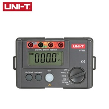 UNI-T UT522 Digital Earth Ground Insulation 0-400V 0-4000 ohm AC Insulation Resistance Tester Low Test Data Logging uni t ut521 digital earth resistance tester with earth resistance testing range 0 2000 ohm