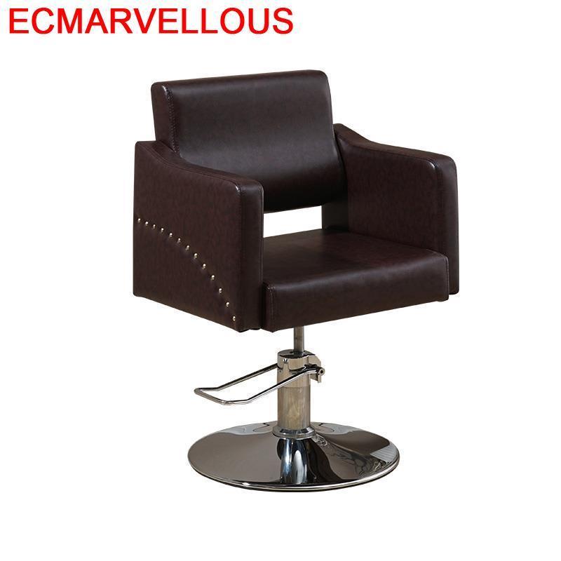 Kappersstoelen Cabeleireiro Stoel Mueble Sedie Sedia Schoonheidssalon Stuhl Barbero Salon Silla Cadeira Barbearia Barber Chair