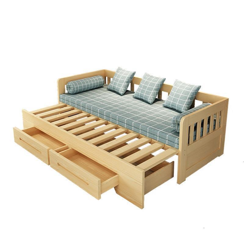 Oturma Grubu Couch Sillon Moderno Para Cama Plegable Moderna Meubel Sala Wood Mobilya Set Living Room Furniture Mueble Sofa Bed