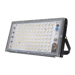 2 шт. белый корпус движения PIR Сенсор Светодиодный прожектор светильник мощностью 10 Вт, 20 Вт, 30 Вт, 50 Вт AC220V потолочные светильник s Водонепрон...