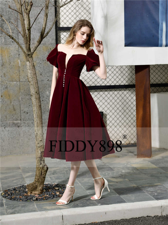 Women/'s Short Sleeve Knee Length Dress Evening Party Cocktail Vintage Dresses