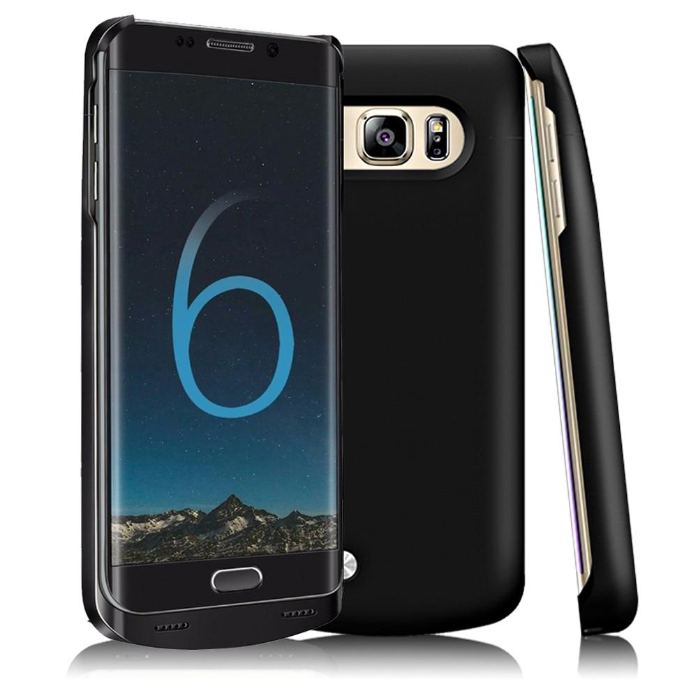 4200mAh Portátil Power Bank Pacote de Backup Externo Carregador de Bateria De Carregamento Caso Capa Protetora Para Samsung Galaxy S6edge