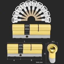 10 ключей замена замка C Класс входные двери системы безопасности цилиндр замка