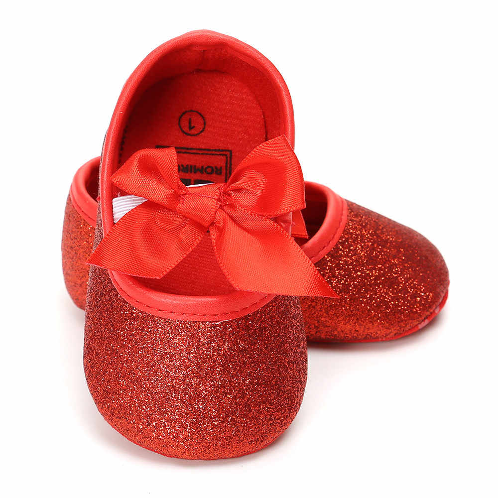 fashion  Shoes butterfly embroidered comfortable Baby Girl Sequins Bowknot Shoes+1PC Hairband Toddler First Walkers Kid Shoes