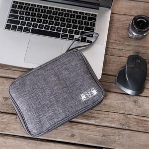 Image 5 - ケーブルオーガナイザーバッグ、旅行エレクトロニクスアクセサリーバッグ主催のためのケーブル、フラッシュディスク、 usb ドライブ、充電器、電源銀行、