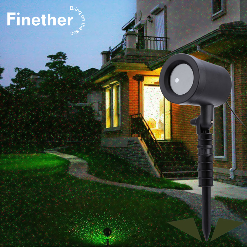 Outdoor Lawn Projector Light Sky Star Laser Spotlight Light Shower Landscape Park Garden Lights Christmas Party Decorations