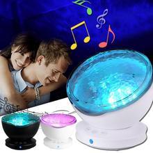 Ночной светильник с usb-подключением для рабочего стола, легко наносится, романтическая атмосфера, настенный светильник для проектора, лампа для океанического времени, практичная помощь для сна