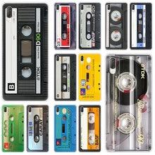 Funda dura clásica de casete viejo para Sony Xperia L1 L2 L3 X XA XA1 XA2 XA3 Ultra 10 Plus e5 XZ XZ1 XZ2 compacto XZ3 XZ5 2 20