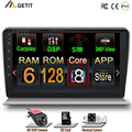 128G Android 11 автомобильный стерео радиоплеер для Audi A3 8P 2003 - 2013 RS3 Sportback 2011 GPS навигация мультимедийный плеер