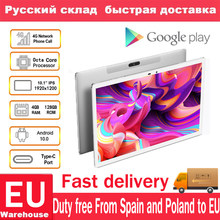 Teclast M30 Pro Android 10 Tabletten Dual 4G Netwerk Telefoontje Tablet Octa Core 10.1 Inch Ips 1920 × 1200 4Gb Ram 128Gb Rom Teblets