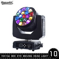 led wash moving head beam zoom light led focus light for TV architectural/theatrical /Theater /Pub 10pcs/lot