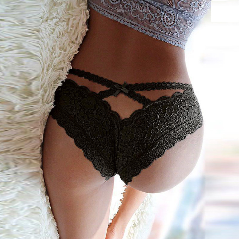 Lace Panties For Women Transparent Pantie Hot Tangas Women Sexy Seamless Plus Size Ultra-thin Intimo Donna Bragas Mujer PS5172