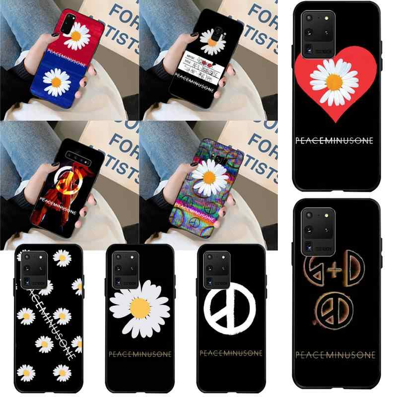 NBDRUICAI INS G Dragon PEACEMINUSONE สีดำ TPU ยางโทรศัพท์สำหรับ Samsung S20 PLUS Ultra S6 S7 EDGE S8 s9 PLUS S10 5G