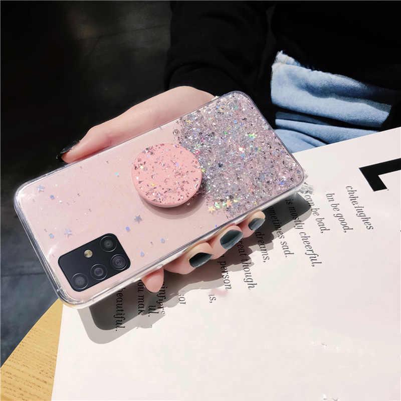 Giá Đỡ Ốp Lưng Dành Cho Samsung Galaxy Samsung Galaxy S20 Cực S10E S9 S8 S10 Note 10 9 8 Plus A51 A71 A91 A70S a30S A20S A40S A90 M30 A50S Trường Hợp