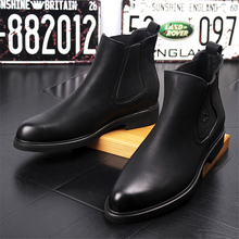 Men Winter Boots Men Leather Boots Safety Shoes New Casual Men Boots Winter Shoes Fashion Chelsea Boots Autumn Winter Men Shoes new men autumn and winter leather boots men shoes zipper leather shoes breathable sneaker fashion boots men casual shoes