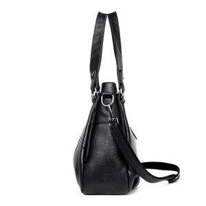Image 5 - Moda hakiki deri çanta bayanlar büyük kapasiteli tasarımcı büyük Tote çanta kadınlar için lüks omuzdan askili çanta bayan çanta
