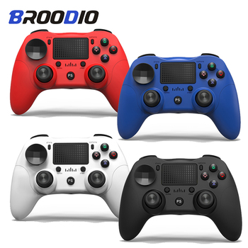 New Bluetooth Wireless PS4 Controller For Sony Playstation 4 For Dualshock 4 PS4 Console Gamepads For PS4 Joystick Gamepad Game pad ps4 game controller ps4 bluetooth connection with touch pad elite controller ps4 game handles for ps4 console with 500mah