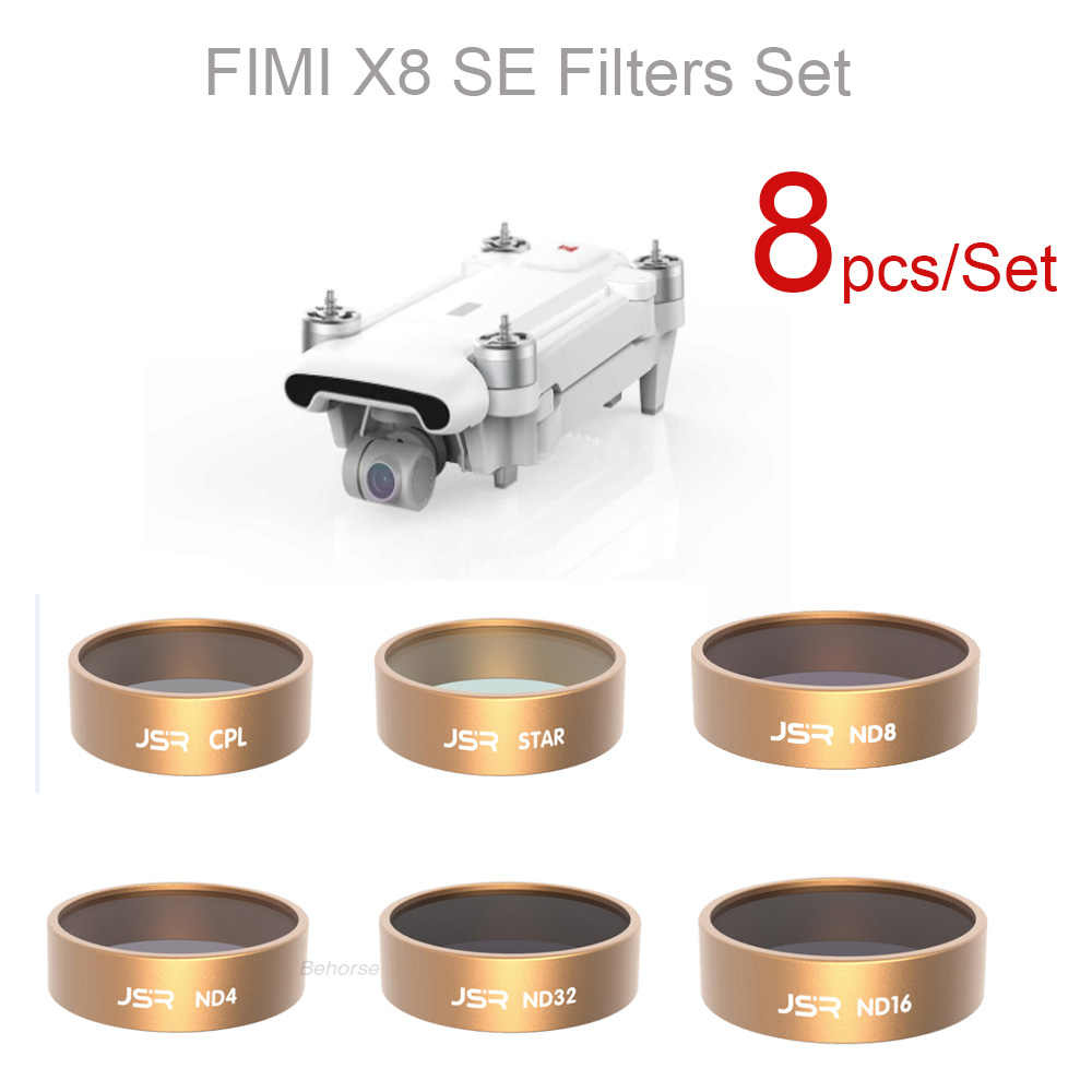 ND Filters Sets Voor XIAO MI FIMI X8 SE ND4/ND8/ND16/ND32/CPL/STER /UV Filter Set Lens Filter voor FIMI X8 SE Drone Accessoires