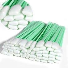 Tampons de nettoyage à bout en mousse à solvant, outil de nettoyage pour tête d'impression Epson/Roland/Mimaki/Mutoh, grand format