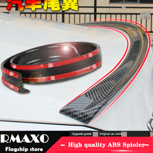 Roof-Spoiler Tail Carbon-Rubber Universal Car-Styling All-Type 5D DIY PU Brazing by Suitable
