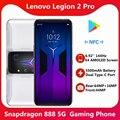 2021 Оригинальный Новый Lenovo Легион 2 Pro 5G игровой телефон 6,92 ''1400 Гц активно-матричные осид, E4 экран 5500mAg батарея Snapdragon 888 NFC Google