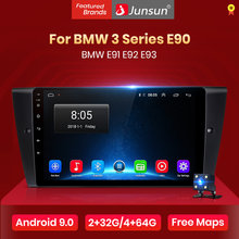 Junsun V1 4G + 64G Android 9.0 Per BMW Serie 3 E90 E91 E92 E93 Radio Multimedia video Player di Navigazione GPS 2 din dvd(China)