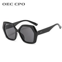 Oec cpo негабаритные Квадратные Солнцезащитные очки женские