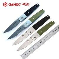 파이어 버드 Ganzo G721 G7211 G7212 440C 블레이드 G10 핸들 EDC 포켓 접는 나이프 전술 생존 칼 야외 EDC 캠핑 나이프