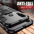 Противоударный армированный чехол Tsimak для ASUS Zenfone Max Pro M1 ZB601KL ZB602KL, чехол с кольцом для пальца, магнитный держатель Max Pro M1, чехол