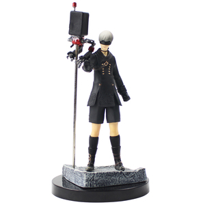 15cm NieR Automata Action Figures 9S YoRHa No.9 Type S Robots with Weapon Collectible Model Toys