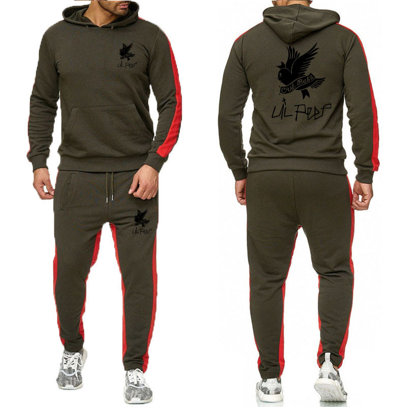 2020 NEW Autumn Winter Men's Sets Brand Sportswear Tracksuits 2 Piece Sets Men Clothes Hoodies+Pants Sets Male Streetswear Coat