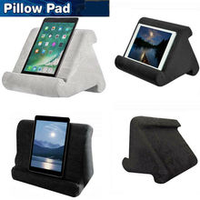 Foldable Pillow Tablet Read Holder Stand Foam Lap Rest Cushion for iPad Phone