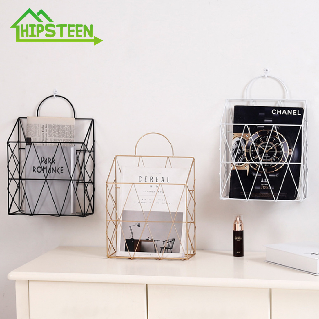 Basket Nordic Wall Hanging Storage Rack