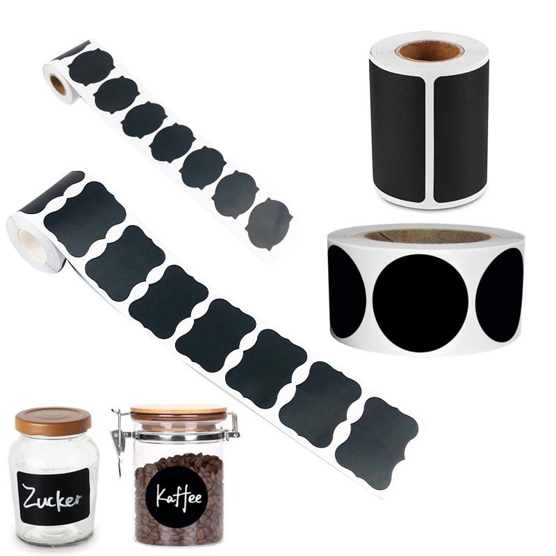 Blackboard Chalkboard Labels Sticker Bullet Journal Diary Pantry And Storage Stickers Removable Waterproof Sticker Label