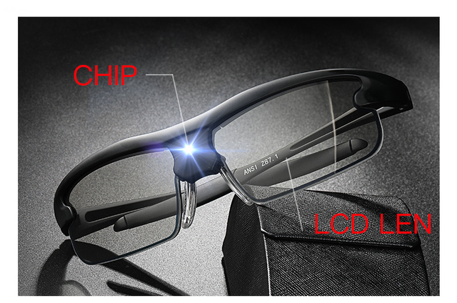 Polarized Photochromic Auto Adjustable Dimming Sunglasses  5