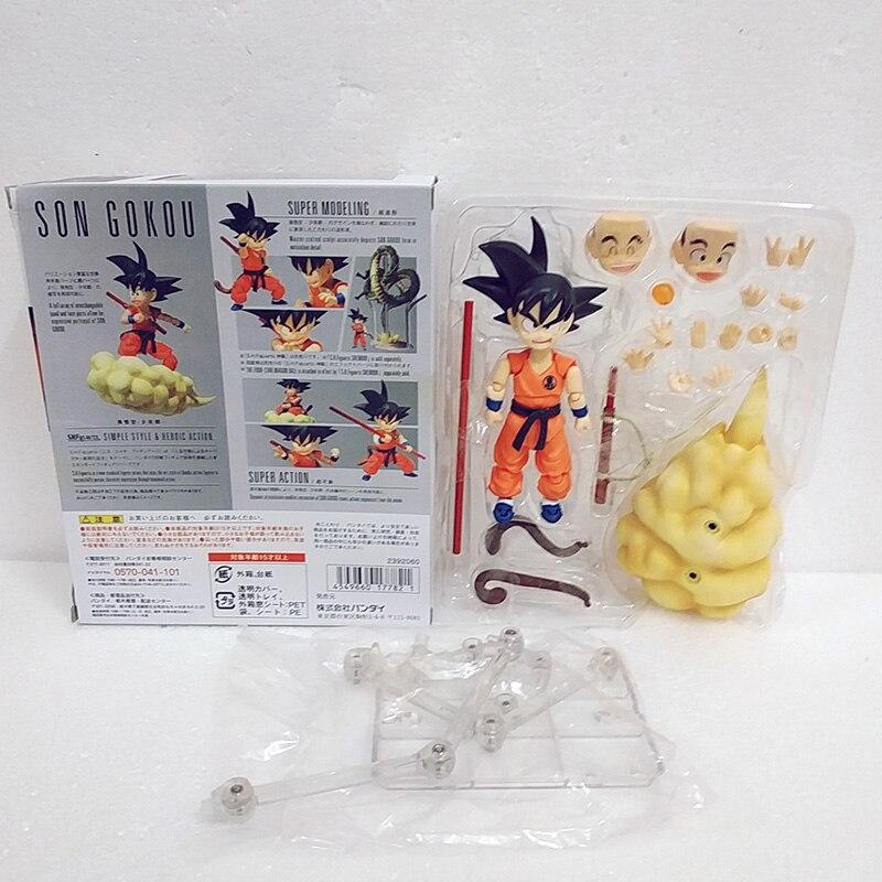 S.H.Figuarts Dragon Ball Z Super Saiyan Goku SHF Movable Action Figures Gift UK