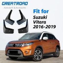 Garde-boue avant et arrière pour Suzuki Vitara/Edcudo, garde-boue, 2016, 2017, 2018
