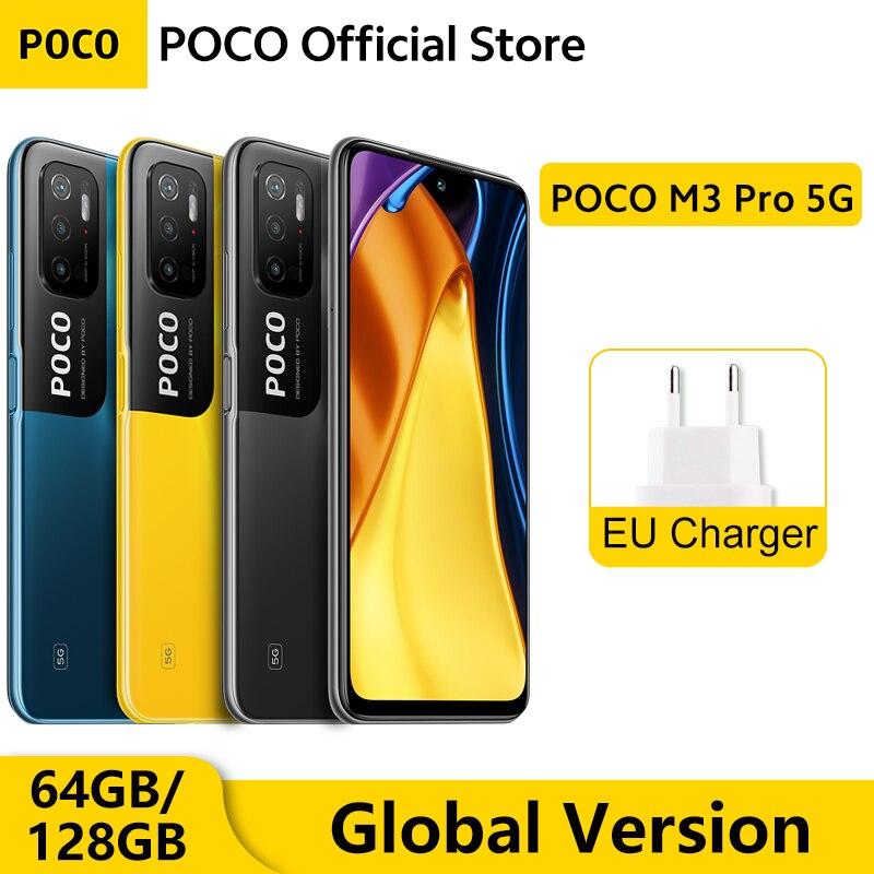 [Мировая премьера] глобальная версия POCO M3 Pro 5G Dimensity 700 Octa Core 90 Гц 6,5