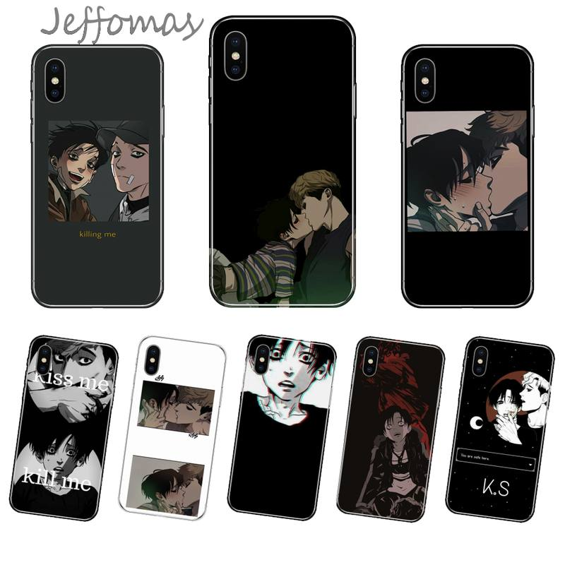 Fiction Killing Stalking Shell Phone Case For iphone 4 4s 5 5s 5c se 6 6s 7 8 plus x xs xr 11 pro max