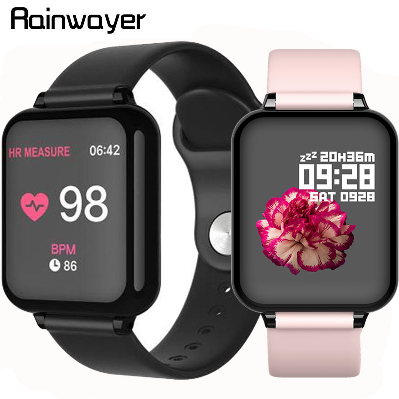 Good Price! B57 Smart Watch Waterproof Smart Wriatband Heart Rate Blood Pressure Oxygen Monitoring B57 Smartwatch Smart Bracelet
