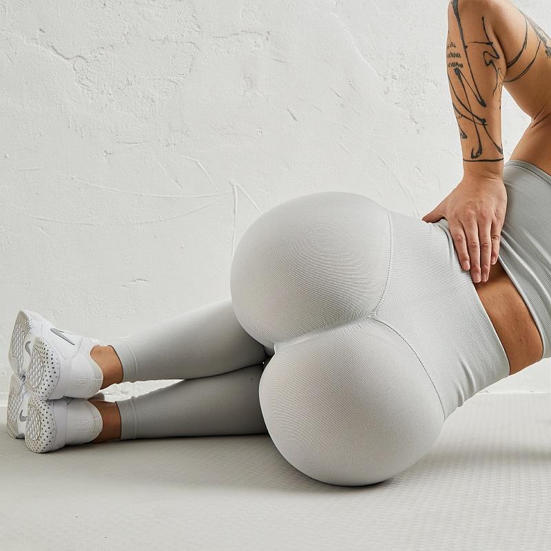 WHOUARE Women Pants Sport Yoga Leggings Gym Fitness Essentials Leggins Push Up Elasticity Breathable Leggings for Fitness