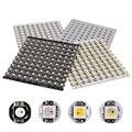 10 ~ 1000 stücke 4-Pin WS2812B WS2812 LED Chip & Kühlkörper Bord DC5V 5050 RGB WS2811 IC Gebaut-in RGB + W RGB + WW WWA LED Chip