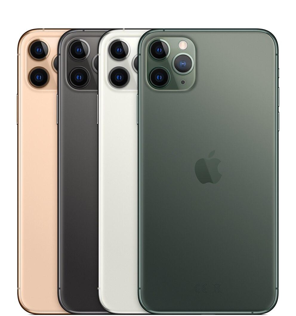 Nouvel iPhone 11 Pro/Pro Max Triple caméra arrière 5.8/6.5