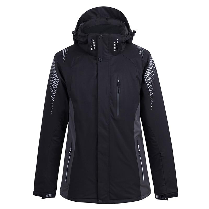 -30 Men / Women Snow Wear Snowboarding Clothing Winter Outdoor Sports Coat Waterproof Thicken Warm -30 Ski Jackets 5 Colors