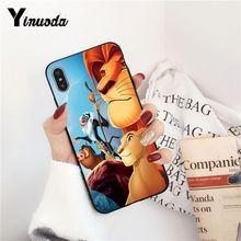 iphone 7 XSMAX Hakuna Matata Lion King Phone Case iPhone X  8 7 6 6S Plus X 5 5S SE XR XS XSMAX SF